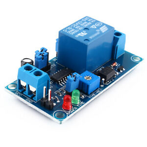1PCS DC12V Delay Relay Turn on/ Turn off Electric  Module with Timer Safety Blue