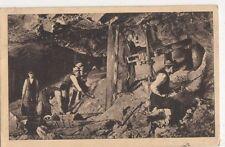Poland, Wielicza, Gornicy Przy Pracy Postcard, B272