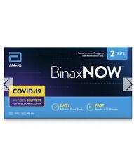 Abbott Binaxnow, 2 Tests, Brand New/Sealed - On Hand.