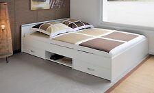 Parisot Stauraumbett 140x200 Jugendzimmer bett Kinderbett Schubladenbett