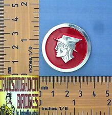 Ford Mercury or the Roman God of Money or Queen Quality Metal Lapel Pin / Badge
