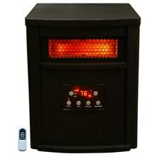 Portable Infrared Electric Space Heater 1500 Watt 8 Element with Remote Control