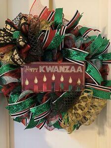Kwanzaa Door Wreath