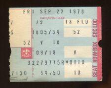 Dave Stewart & Pedro Guerrero MLB DEBUT L.A. Dodgers Ticket Stub 9/22/1978