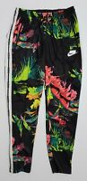 Nike NSW Sportswear Black Floral Print Track Pants (AR1613-389) Men's Size M