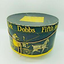 Vintage Dobbs Fifth Avenue Hat Box New York Decorative Decor