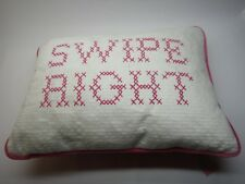 Decorative Throw Pillow 13 X 9 Celebrate Shop Swipe Right Embroidered