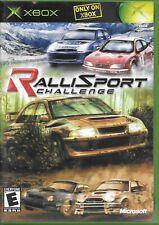 RalliSport Challenge (Microsoft Xbox, 2002) W/Manual