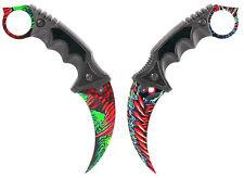 Counter Karambit Hyperbeast GO Skin Real Knife CS Strike Messer CSGO ARI Knives