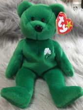 RARE Erin the St Patrick's Day Bear Ty Beanie Baby - Errors and Rarities