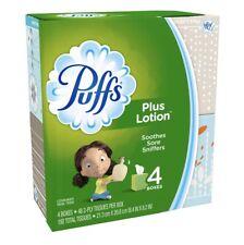 Puffs® Plus Lotion™ White Facial Tissues 4x72,288 ct Box