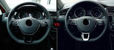 ABS Matte Lenkrad U-Gestalt Abdeckleiste 1 Stück für VW Tiguan 2. Gen. 2016-2018