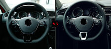 ABS Matt Lenkrad U-Gestalt Abdeckleiste 1 Stück für VW Tiguan 2. Gen. 2016-2017