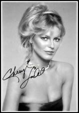 Cheryl Ladd, Autografiado, Imagen de Lona de algodón. edición Limitada (CL-200)