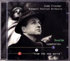 Ivan FISCHER: DVORAK Symphony 8 & 9 From the New World CD Budapest Festival Orch