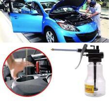 High Pressure Hand Pump Oiler Oil Pot Can Spray Gun Hose For Lubricants Tool Q