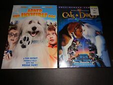 ABNER THE INVISIBLE DOG w/CATS & DOGS-2 movies-Pets have super powers-Family Fun