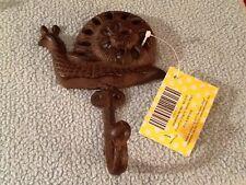 Adorable Snail Clothes Hanger Rack By Comfify | Hand-Cast Aluminum Coat Hanger