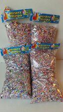 4X Confetti Paper Multicolor Mexican 14 oz Each Bag Party Supplies, All Ocasions