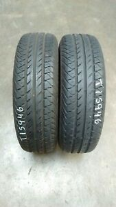 2 X 205/65 R15 99T REINFORCED CONTINENTAL VANCO CONTACT 2 TREAD 8mm Approx