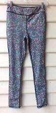 FINDERS KEEPERS SZ XS 8 Womens Leggings Grey Animal Print Multi Full Length NWOT