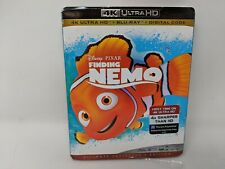 Disney Pixar Finding Nemo (4K Ultra Hd + Blu-Ray + Digital) New Sealed Slipcover