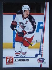 NHL 129 R.J. Umberger Columbus Blue Jackets Donruss 2010/11