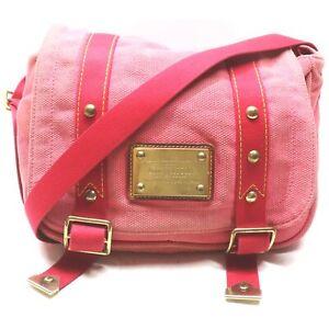 Louis Vuitton Shoulder Bag M40079 Antigua Busace PM Pinks Canvas 839305