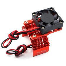 YA-0409rd Dissipatore in alluminio con ventola per motori 540 red yeah racing