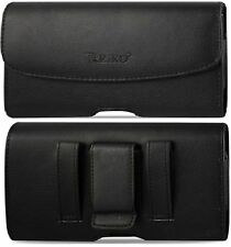For ZTE Blade Z Max leather belt clip phone case holder pouch loop holster