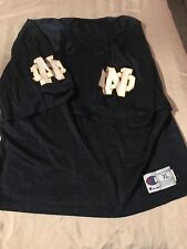Champion Notre Dame Fighting Irish Blank College Football Jersey Shirt XL