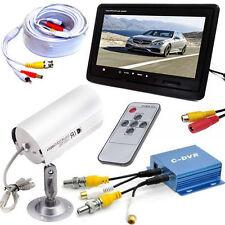 Telecamera ad infrarossi con Dvr kit videosorveglianza e cavo bnc monitor lcd