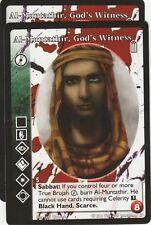 Al-Muntathir, God's Witness x2 True Brujah Heirs to the Blood Reprint 2 R2 VTES