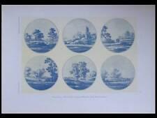 FAIENCE DELFT, FREDERIK VAN FRYTOM -1925- PHOTOLITHOGRAPHIE, PLATS