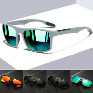 Polarized Sunglasses Women/Men Square Cycling Sport UV400 Driving Fishing US