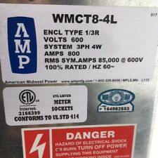 AMP American Midwest Power - Metering Transformer Cabinet - WMCT8 - 4L