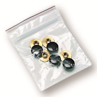 Galco Shoulder Holster Systems Brass Screws Set Black Ambidextrous 4 Pack SCREWB