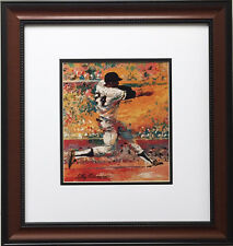 "LeRoy Neiman ""Willie Mays"" CUSTOM FRAMED Print NEW YORK - San Francisco Giants"