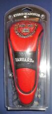 NCAA Harvard Crimson VE RI TAS Hybrid Golf Headcover Stretch Fit & secures shaft