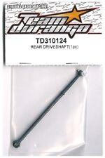 RC Team Durango TD310124 Rear Driveshaft DESC410Rv2 DESC410v2 DESC410R Truck 1pc
