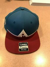 2020 Colorado Avalanche Fanatics NHL Hat Stadium Solid Snapback Cap