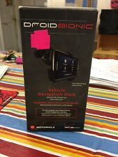 MOTOROLA HD DROID RAZR VEHICLE NAVIGATION DOCK