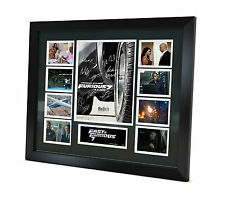 Fast and Furious 7 Signed Photo Movie Memorabilia Limited Edition