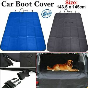 LARGE CAR BOOT LINER HEAVY DUTY WATERPROOF DIRT PROTECTOR PET DOG FLOOR COVER UK