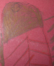 Leroy Person Outsider FOLK ART  DRAWING African-American  Abstract