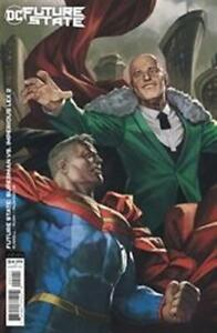 FUTURE STATE SUPERMAN VS IMPERIOUS LEX #2 CARD STOCK VARIANT DC NM