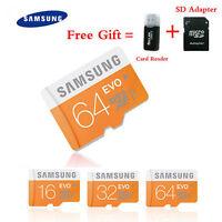 Micro SD Card 16GB TF Card SDHC 32GB 64GB memory card Class 10 UHS-I free adapte