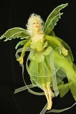 Green Butterfly Fairy Mother Doll Christmas Tree Home Decoration D038