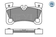 MEYLE 0252429616/PD Bremsbelagsatz Scheibenbremse hinten für AUDI PORSCHE VW