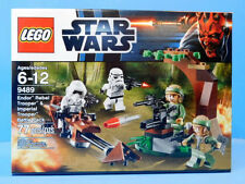 Lego Star Wars 9489 Endor Rebel Trooper & Imperial Trooper Battle Pack  New!